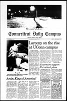 Connecticut Daily Campus, Volume 80, Number 58