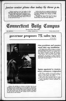 Connecticut Daily Campus, Volume 69, Number 61