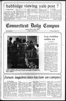 Connecticut Daily Campus, Volume 69, Number 98
