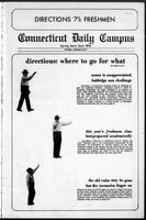 Connecticut Daily Campus, Volume 69, Number 1