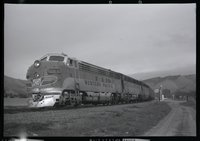 Western Pacific Railroad locomotive 805-a
