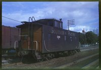 Southern Pacific Railroad caboose 1196