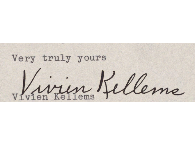 Vivien Kellems Papers
