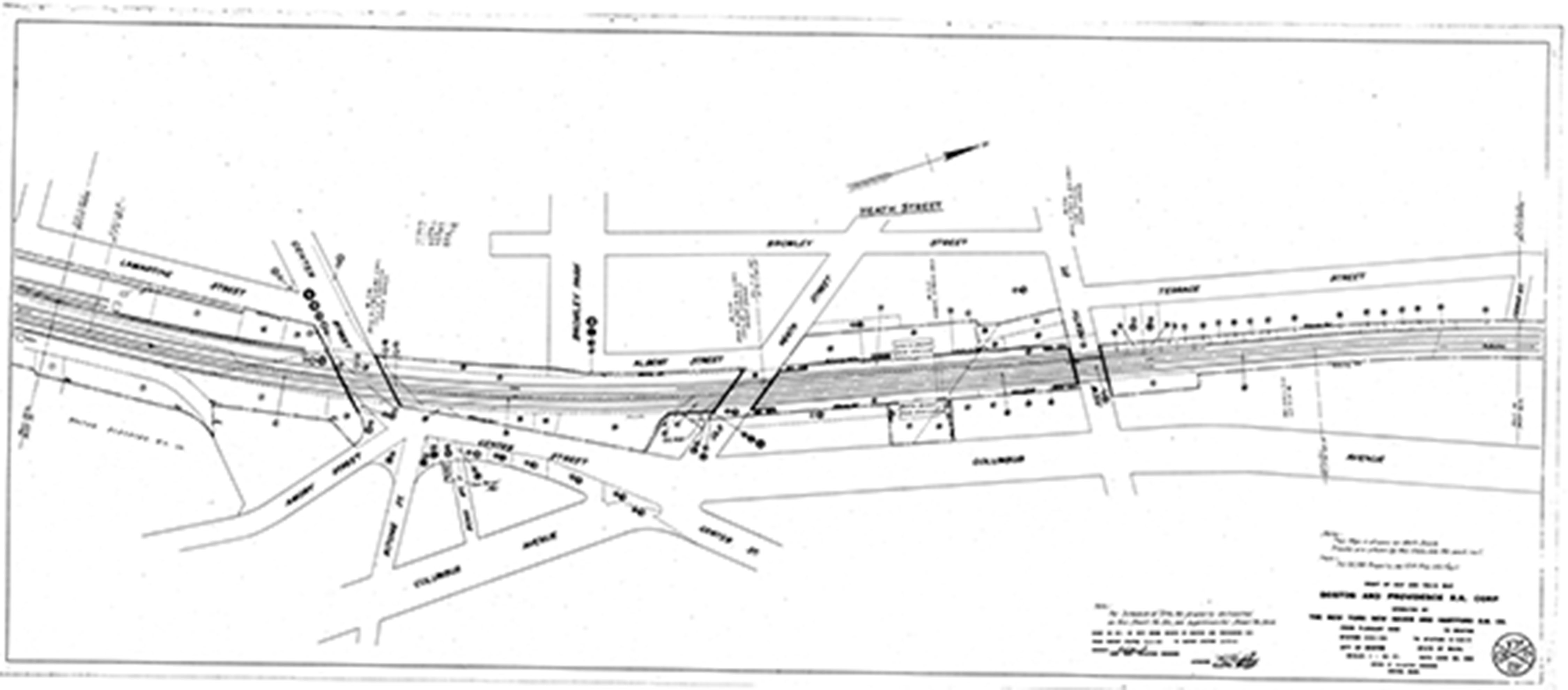 Massachusetts Railroad Valuation Maps
