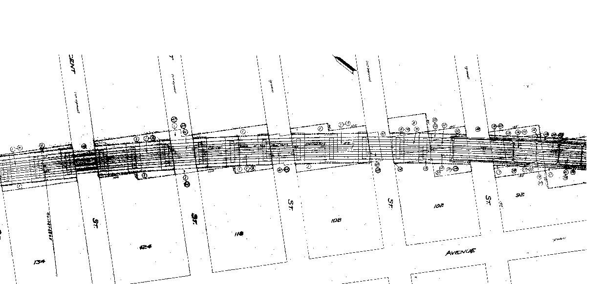 New York Railroad Valuation Maps