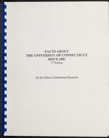 Facts About the University of Connecticut since 1881. 2nd edition.