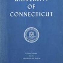 University of Connecticut bulletin, 1958-1959