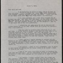 Keeney family correspondence, 1935