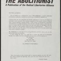 Abolitionist.