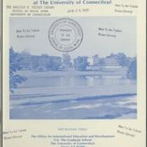 Directory of international education at the University of Connecticut
