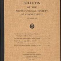 Bulletin of the Archaeological Society of Connecticut, 1946, v. 19