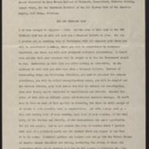 1939-1946, Speeches
