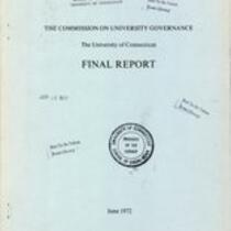 Commission on University Governance Final Report