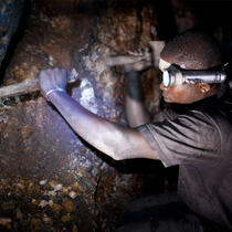 Galamsey Gold Mining, Ghana