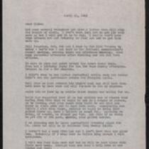 Kenney family correspondence, 1946