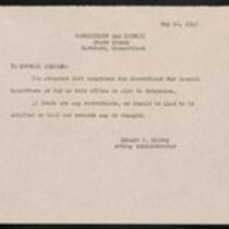 Connecticut War Council Committees