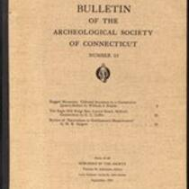Bulletin of the Archaeological Society of Connecticut, 1951, v. 25