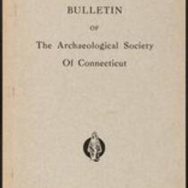 Bulletin of the Archaeological Society of Connecticut, 1941, v. 12