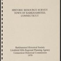 Barkhamsted, Historic Resource Survey