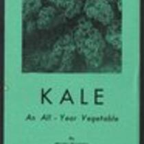 Kale. An All-Year Vegetable