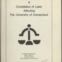 Compilation of laws affecting the University of Connecticut
