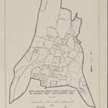 1960 City blocks: New Canaan Town