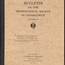 Bulletin of the Archaeological Society of Connecticut, 1950, v. 24