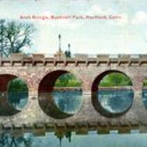 Arch Bridge, Bushnell Park, Hartford, Conn. (front)