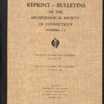 Bulletin of the Archaeological Society of Connecticut, 1935, v. 1-2