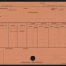 Employee record cards, Congi-Demayo