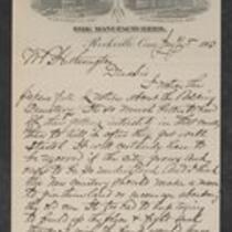 Correspondence 1903