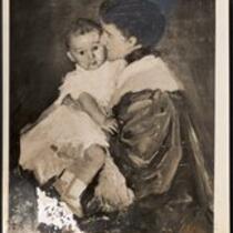Rosina Emmet Sherwood and son Robert