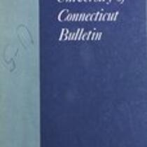 University of Connecticut bulletin, 1967-1968