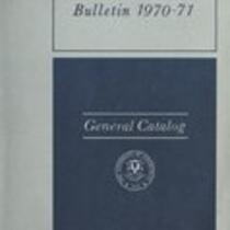 University of Connecticut bulletin, 1970-1971