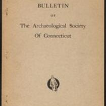 Bulletin of the Archaeological Society of Connecticut, 1939, v. 9