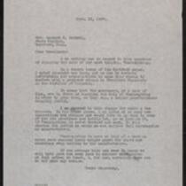 Baldwin, Raymond E., Senator