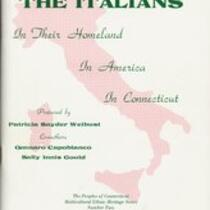 Italians, in their homeland, in America, in Connecticut