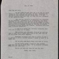 Keeney family correspondence, 1939