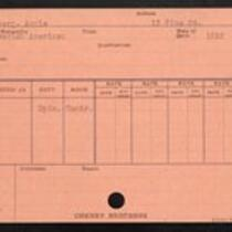 Employee record cards, Hal - Har