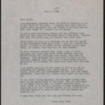 Keeney family correspondence, 1943
