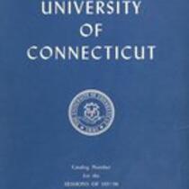 University of Connecticut bulletin, 1957-1958
