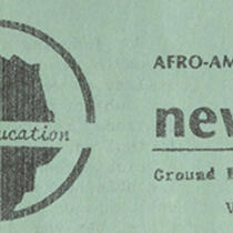 Afro-American Cultural Center Newsletter