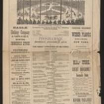 Advertisement: P.T. Barnum's Hippodrome at Back Bay in Boston