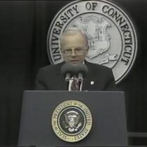 Fifty Years After Nuremberg: Dedication of the Thomas J. Dodd Research Center CPTV broadcast of opening ceremonies at the dedication