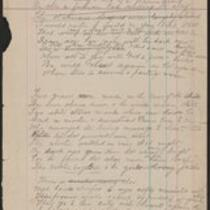 Drafts of poems/memorials to fallen railroad workers