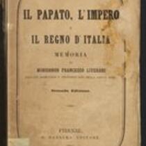 Il papato, l'impero e il regno d Italia: Memoria di Francesco Liverani