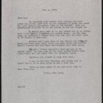 Keeney family correspondence, 1940