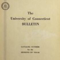 University of Connecticut bulletin, 1955-1956