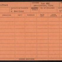 Employee record cards, Wh - Wi