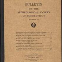 Bulletin of the Archaeological Society of Connecticut, 1945, v. 18